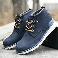 Кожаные утепленные ботинки Ecco р 34. Кожаная обувь эко