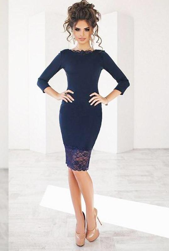1f614601bcc Нарядное платье с кружевом ЯСМИНА