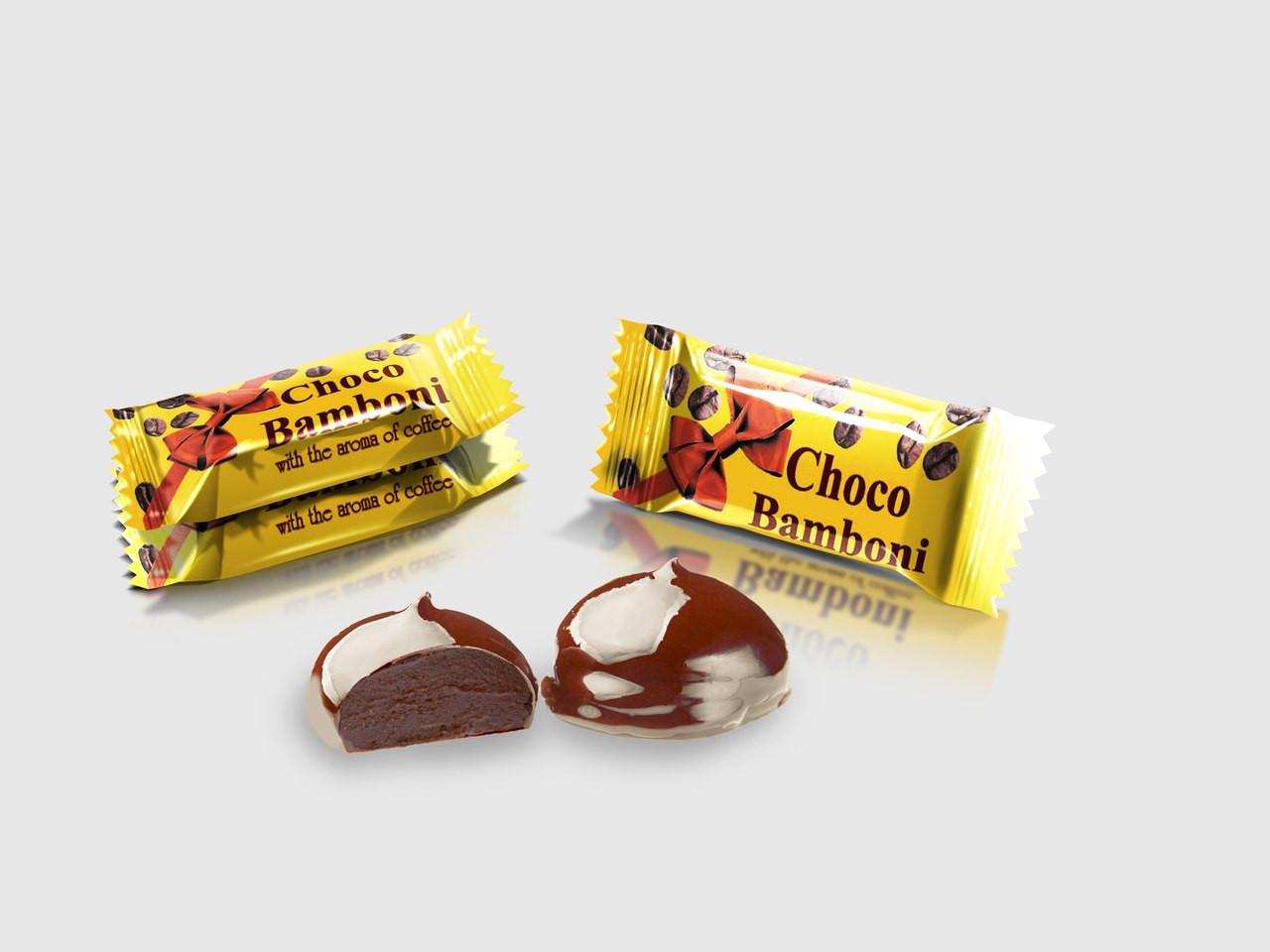 Цукерки Шоко бомбони з ароматом кави 2,5 кг. ТМ Суворов