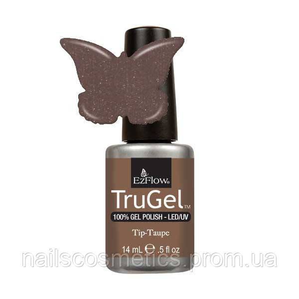 406 TruGel Tip-Taupe, 14 мл.- гелевый лак 19300/30