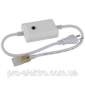Адаптер питания для RGBY светодиодной ленты 6mm+коннектор 2pin 220V 48-2835