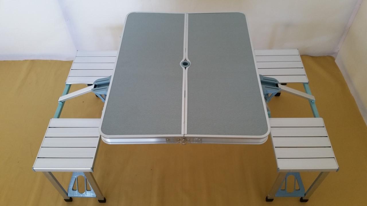 Комплект стол со стульями мод-005