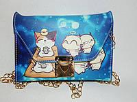 Женская сумка из искусственной кожи (17х11х2)