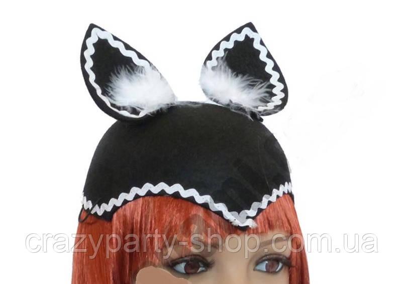 Шапка  карнавальная Кошка Кот