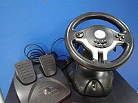 Игровой руль с педалями Gembird STR-RACEFORCE БУ, фото 1