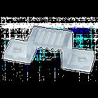 Монтажная клипса для светодиодной ленты 6mm 220V 1017843, фото 2