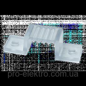 Монтажная клипса для светодиодной ленты 6mm 220V