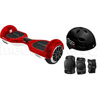 Электрический скейтборд smartboard FIAT 500 6.5 Красно-белый