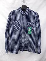 Мужская байка рубашка (длинный рукав) оптом со склада в Одессе, фото 1
