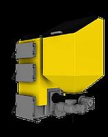 Котел длительного горения Kronas Combi 35 кВт, c турбиной и автоматикой,35 кВТ