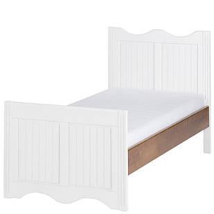 Ліжко в дитячу кімнату з натурального шпону берези/масиву берези  Princessa 11 Szynaka