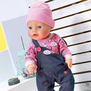 Кукла Джинсовый стиль Нежные объятия Baby Born Zapf Creation 826157, фото 2