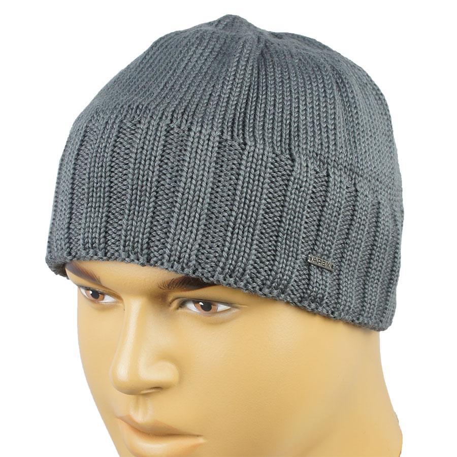 3f3d642ba41e Серая мужская шапка Apex RIB4 grey