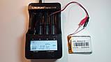 Аккумулятор с контроллером заряда Li-Pol PL805070 3,7V 3000mAh (8*50*70мм), фото 5