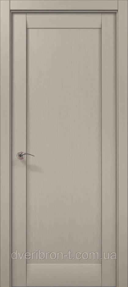 Двери Папа Карло Millenium ML-00F дуб крем