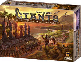 Настольная игра Giants (Гиганты, Исполины острова Пасхи)