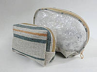 Косметички женские - комплект 2 штуки RIO (25х17, 17х12)