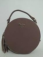 Стильная женская кожаная (кожа искусственная) сумка  David Jones / Дэвид Джонс