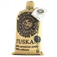 Кофе в зернах TUSKANI 1кг 30/70 (Италия)