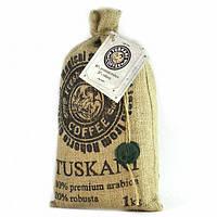 Кофе в зернах TUSKANI 1 кг 80/20(Италия)