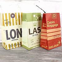 Пакет саше с дном, 7613-17-18 (23 х 13*8 см), 50 шт. в упаковке