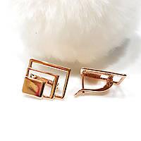 Серьги  позолоченные FJ FALLON  F278, фото 1