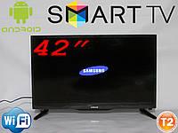"ТЕЛЕВИЗОР  SAMSUNG 42"" LCD LED  DVB - T2 Smart TV WiFi"
