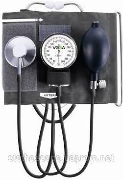 Механічний тонометр VEGA - VМ-210 клас.тип, з вбудованим фонендоскопом, манжета з кільцем