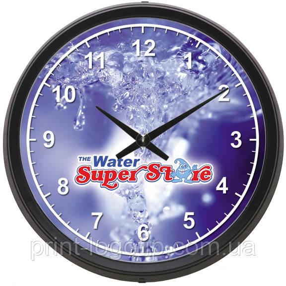 Часы с логотипом, печать на часах от 10  штук