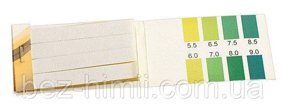 Лакмусовая бумага PH 5,5-9. Определение кислотности слюны