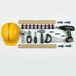Набор инструментов с каской Bosch Klein 8418, фото 2