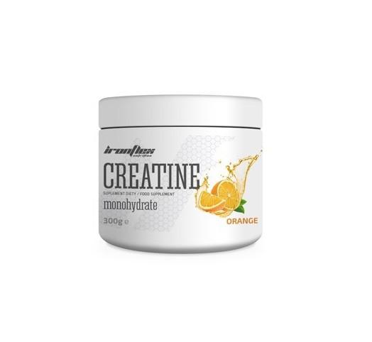 Креатин IronFlex - Creatine (300 грамм) orange/апельсин