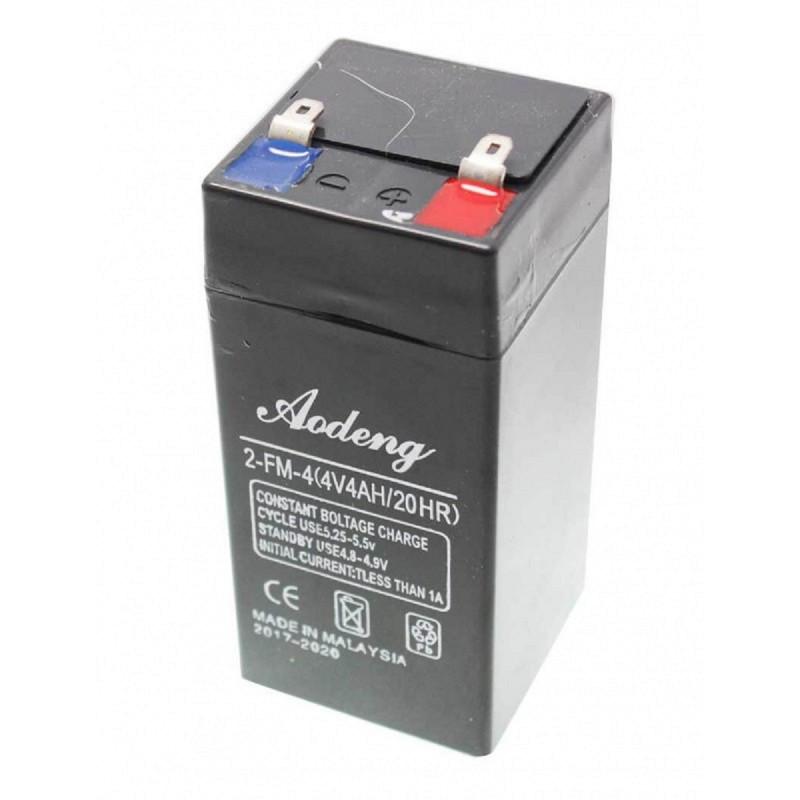 Аккумулятор к UPS 4V 4Ah Aodeng 2-FM-4