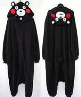 Пижама Кигуруми Мишка Боня на детей и взрослых,черный цвет,S,M,L,XL