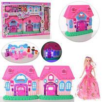 Кукольный домик Window Box 666-689F со светом и звуком
