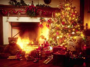 Гирлянды и прочие новогодние атрибуты