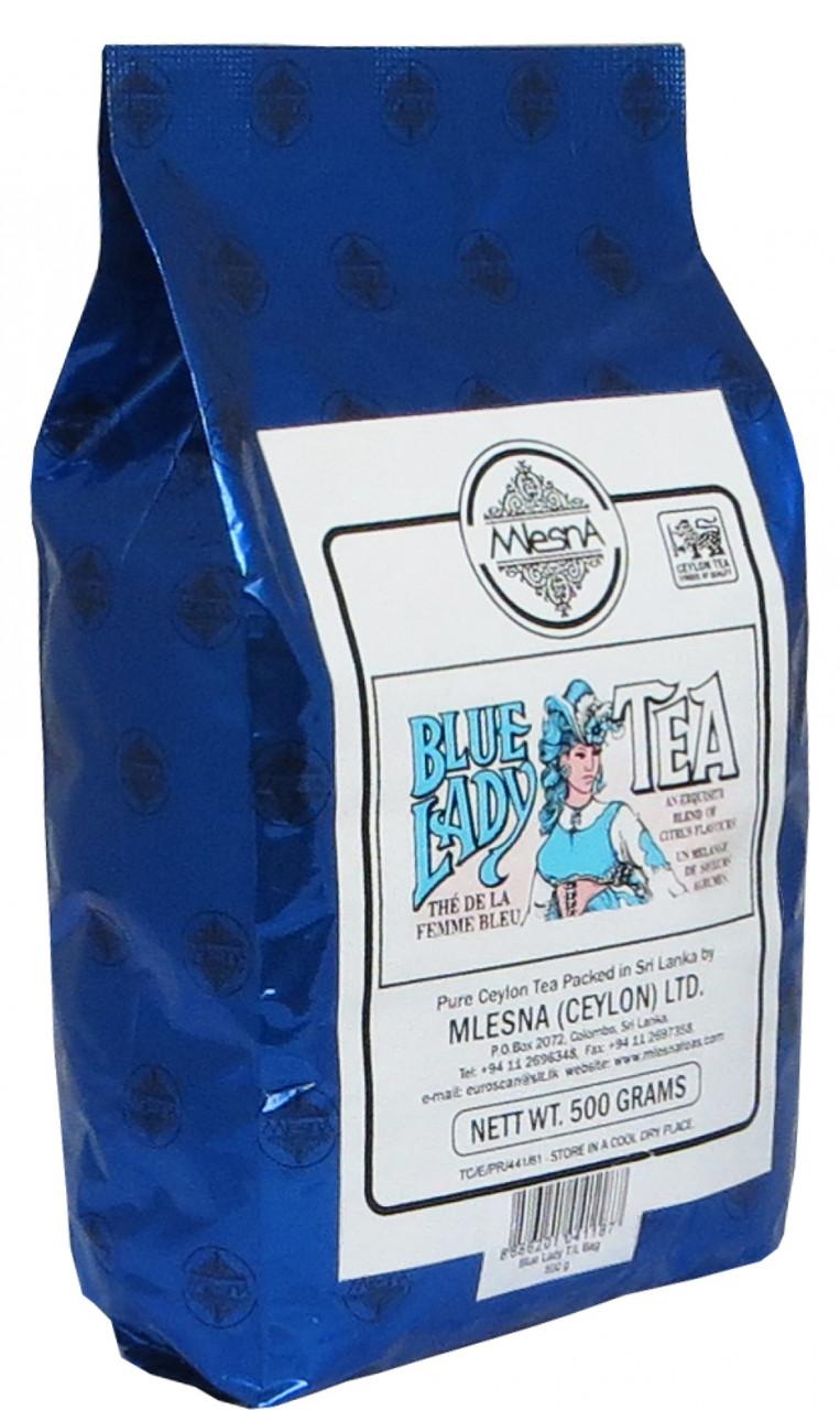 Черный чай Блю Леди, BLUE LADY BLACK TEA, Млесна (Mlesna) 500г.