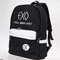Рюкзак городской молодежный Exo черный, фото 1