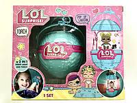 LOL Surprise ночник-фонарик с куклой 4 Серия (Голубой шар)