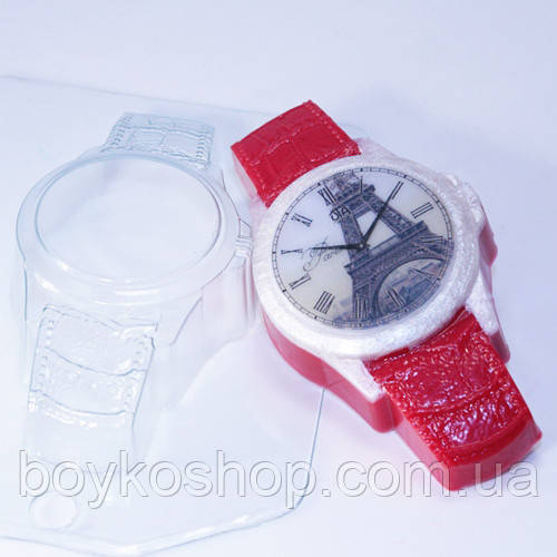 Форма пластиковая Часы