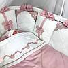 """Роскошный набор постельного белья для девочки """"Классика с кружевом"""""""