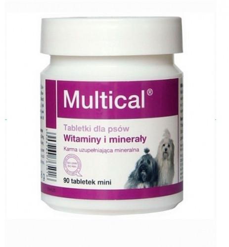 "MULTICAL MINI ""DOLFOS"" МУЛЬТИКАЛ МИНИ витамины для правильного развития собаки, 90 мини таблеток"