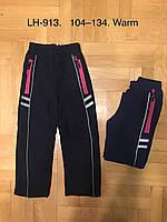 Лыжные штаны утепленные на девочек оптом, F&D, 104-134 рр