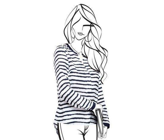 Элегантная блуза от тсм Tchibo (Чибо), Германия, размер укр от 42 до 44