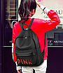 Рюкзак женский молодежный Pink черный, фото 3