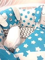 """""""Сказочные зайчата"""" набор постельного белья для мальчика, фото 1"""