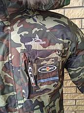 Куртка зимняя камуфляжная на подростков унисекс JING, фото 3