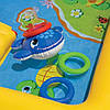 """Детский игровой надувной центр """" Аквапарк """"  с  надувными кольцами, игрушками  и горкой, шарики  10 шт., фото 4"""
