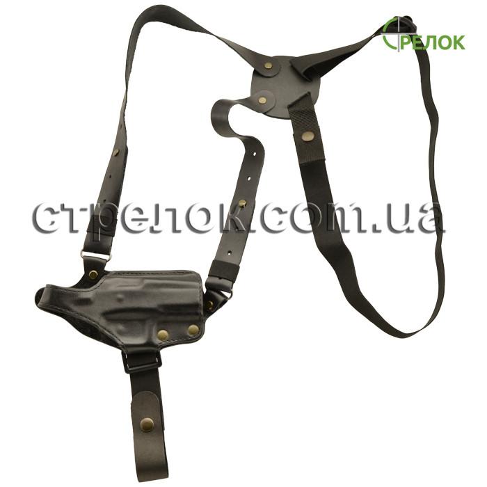 Кобура оперативна Медан 1001 для T-REX шкіряна формована тришарова з комбінованим кріпленням