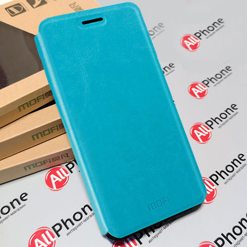 Чехол-книжка  MOFI Blue для Xiaomi Redmi Note 6 Pro, фото 1